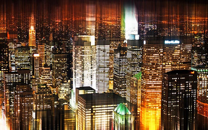 Philippe Hugonnard - Manhattan night