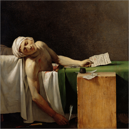 Wall sticker The Death of Marat