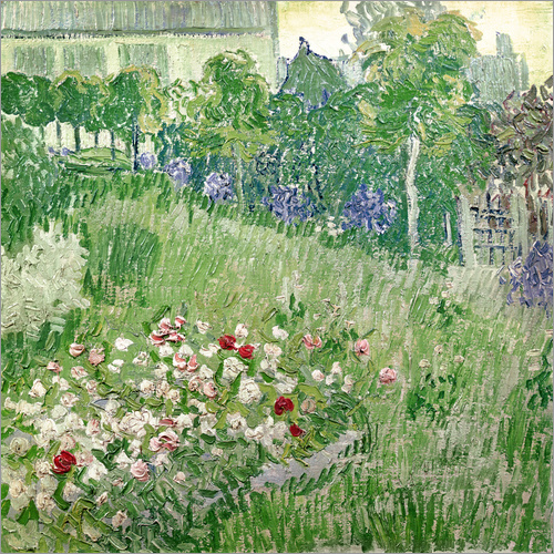 Wall sticker Daubigny's garden