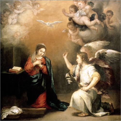 Wall sticker Annunciation to the Virgin