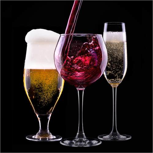 Wall sticker Beverages - Beer, Wine and Champagne