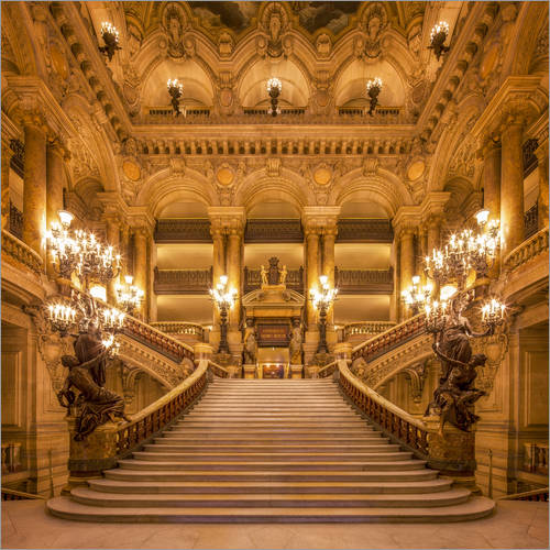 Wall sticker Staircase of the Opera Garnier in Paris France