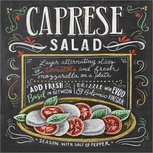 Wall Stickers Caprese Salad