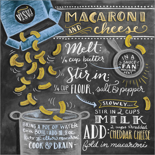 Wall Stickers Macaroni and Cheese