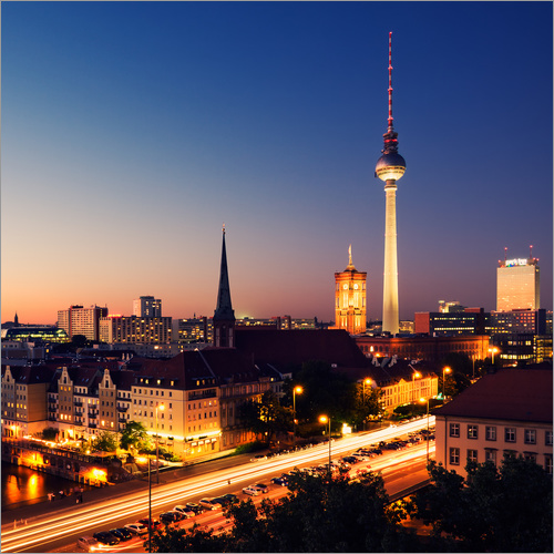 Wall sticker Berlin Skyline