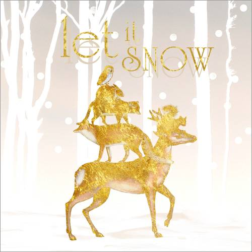 Wall Stickers Let It Snow