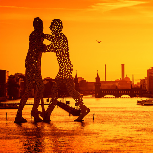 Wall sticker Berlin - Sunset Skyline I