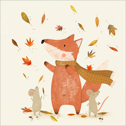 Wall sticker Fall is coming