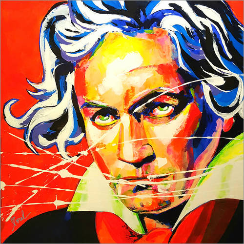 Wall sticker Ludwig van Beethoven