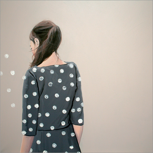 Wall Stickers white dots