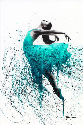 Kingfisher Dance Posters And Prints Posterlounge Co Uk