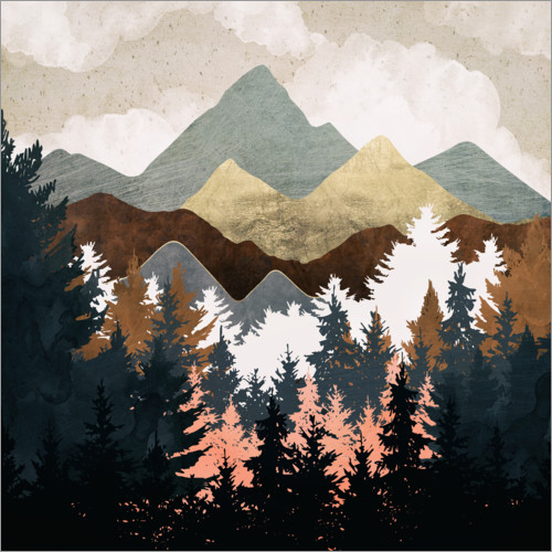 Premium poster Forest View