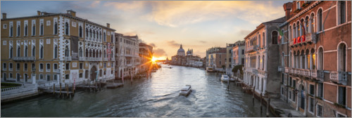 Premium poster Grand Canal in Venice