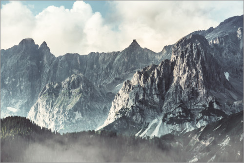 Premium poster The Dachstein in Austria