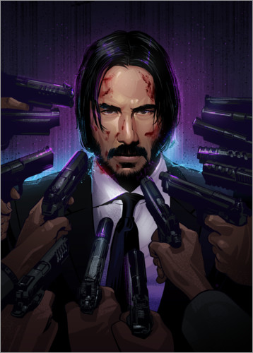 John Wick Posters And Prints Posterlounge Co Uk