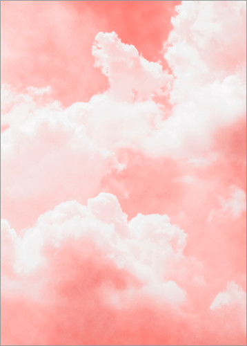 Pink Clouds Posters And Prints Posterlounge Co Uk