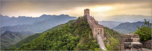 Premium poster Great Wall of China