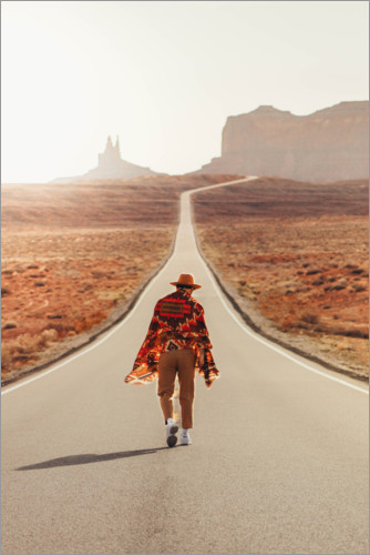 Premium poster Journey through Monument Valley, Utah