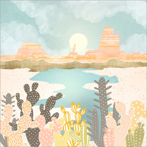 Wall sticker Desert oasis