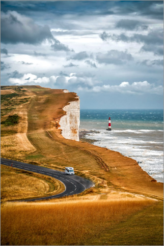 Premium poster White Cliffs in southern England