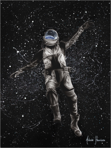 Premium poster Lost in space