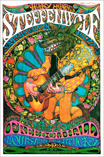 Premium poster Steppenwolf - Freedom Hall