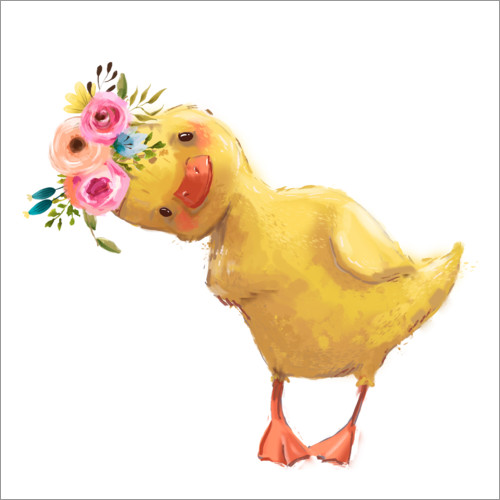 Wall sticker Spring chick