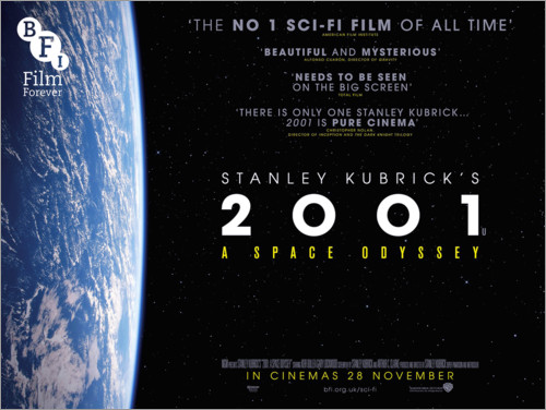 Premium poster 2001, A Space Odyssey