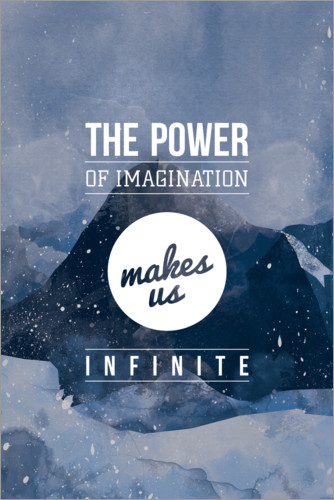 Premium poster Power of Imagination