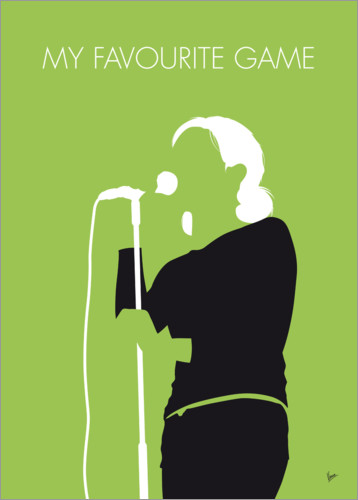 Premium poster No256 MY The Cardigans Minimal Music poster