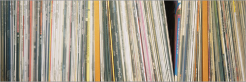 Premium poster Record collection