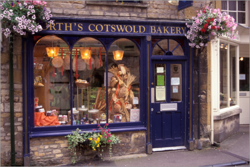 Premium poster Bakery in Cotswold