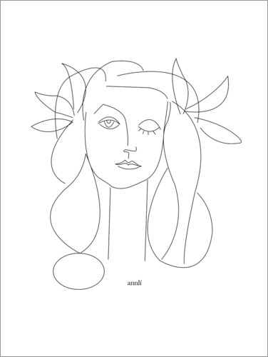 Premium poster Homage to Picasso