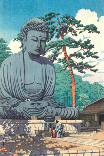 Premium poster Great Buddha in Kamakura