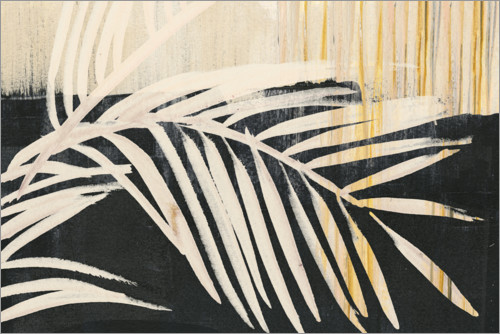 Premium poster Abstract palm leaf