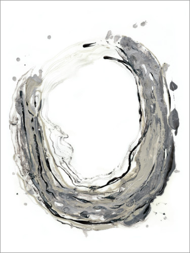 Premium poster Abstract color circle