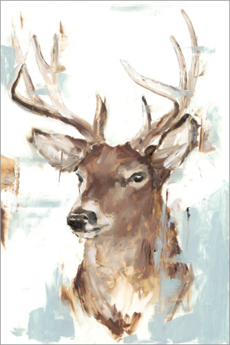 Premium poster Modern stag II