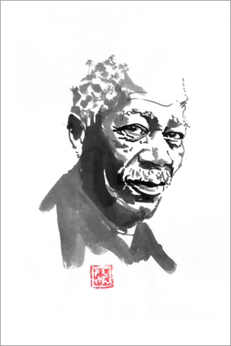 Premium poster Morgan freeman