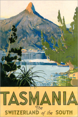 Premium poster Tasmania, Switzerland of the South (English)