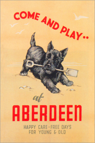 Premium poster Come and play at Aberdeen
