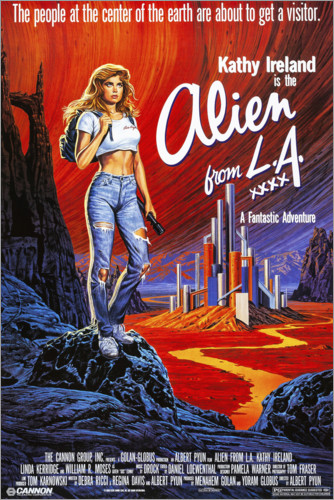 Premium poster Alien from L.A.