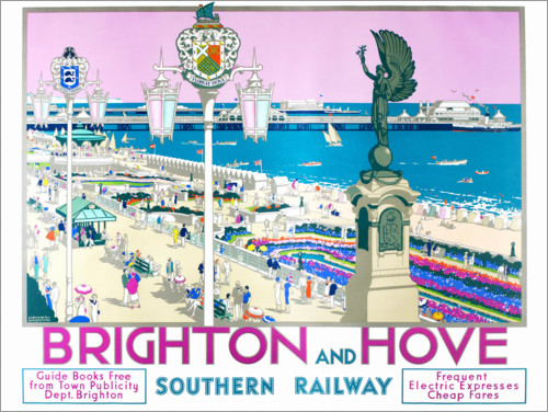 Premium poster Brighton and Hove