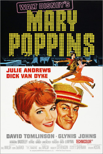 Premium poster Mary Poppins