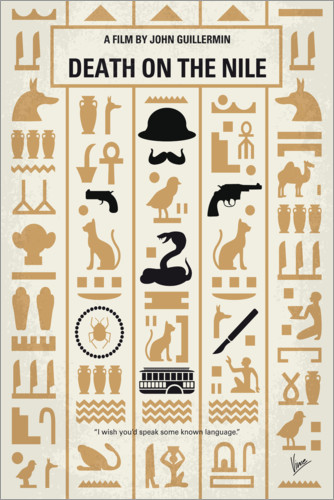 Premium poster Death on the Nile