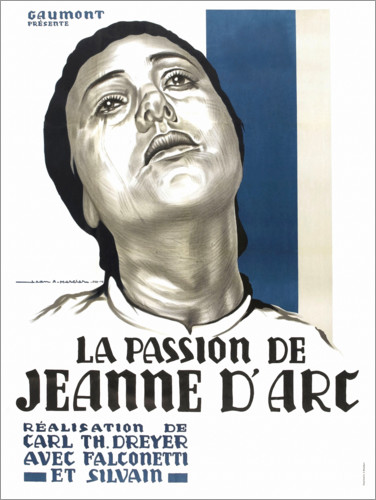 Premium poster The Passion of Joan of Arc