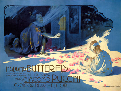 Premium poster Madame Butterfly