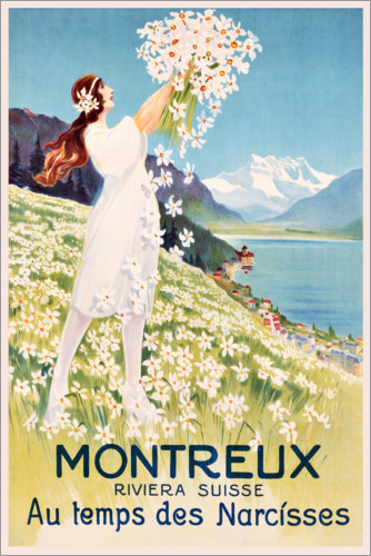 Premium poster Montreux (French)