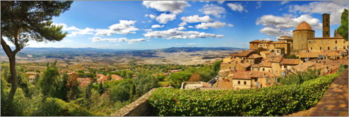 Premium poster Volterra is a picturesque town in Tuscany