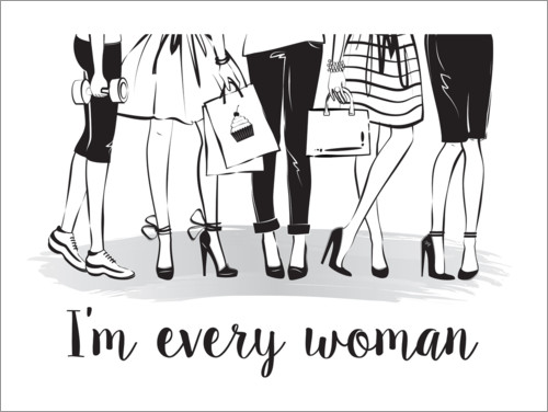 Premium poster Every woman
