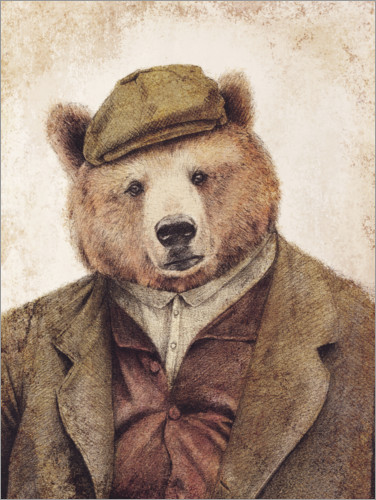 Premium poster Uncle Bear